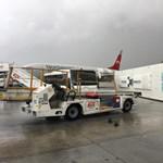 Tornádó söpört végig az antalyai repülőtéren - videók