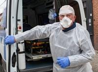 Egy nap alatt több mint 800-an haltak meg a járványban Franciaországban