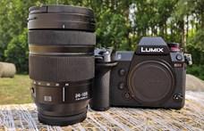 Teszten az abszolút profi fényképező, a Lumix S1R – nem pehelysúlyú versenyző