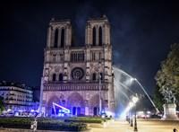A Notre-Dame székesegyházról tett közzé 360 fokban mozgatható videót a BBC