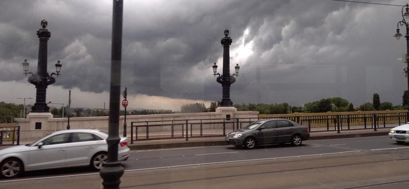 Vihar, felhőszakadás, szél, egész napos eső – szinte az egész országra riasztást adtak ki