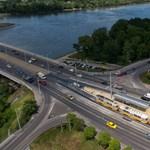 BKK: újra 50-nel mehetnek a villamosok az Árpád hídon
