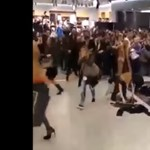 Nemcsak a budapesti H&M-ben tört ki shoppingpara – videók