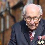 Koronavírus-fertőzésben meghalt a 100 éves veterán, aki rengeteg pénzt gyűjtött a brit egészségügynek