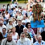 Több ezer ápolóval tüntettek együtt Pukliék