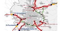 budapest útdíj térkép Autó: Hol válnak fizetőssé az autópályák? Íme a részletes térképek  budapest útdíj térkép