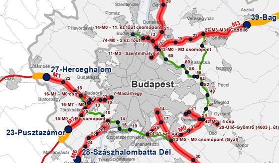 ingyenes budapest térkép Autó: Hol válnak fizetőssé az autópályák? Íme a részletes térképek  ingyenes budapest térkép
