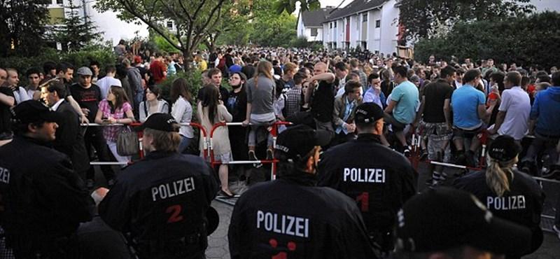 Riadókészültség: újabb Facebook-házibuli Németországban