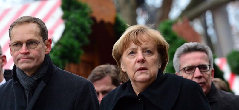A németek nem Merkelt hibáztatják a berlini merényletért