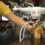 Újított a Costa Coffee, valahol már drónok viszik ki a tejeskávét – videó