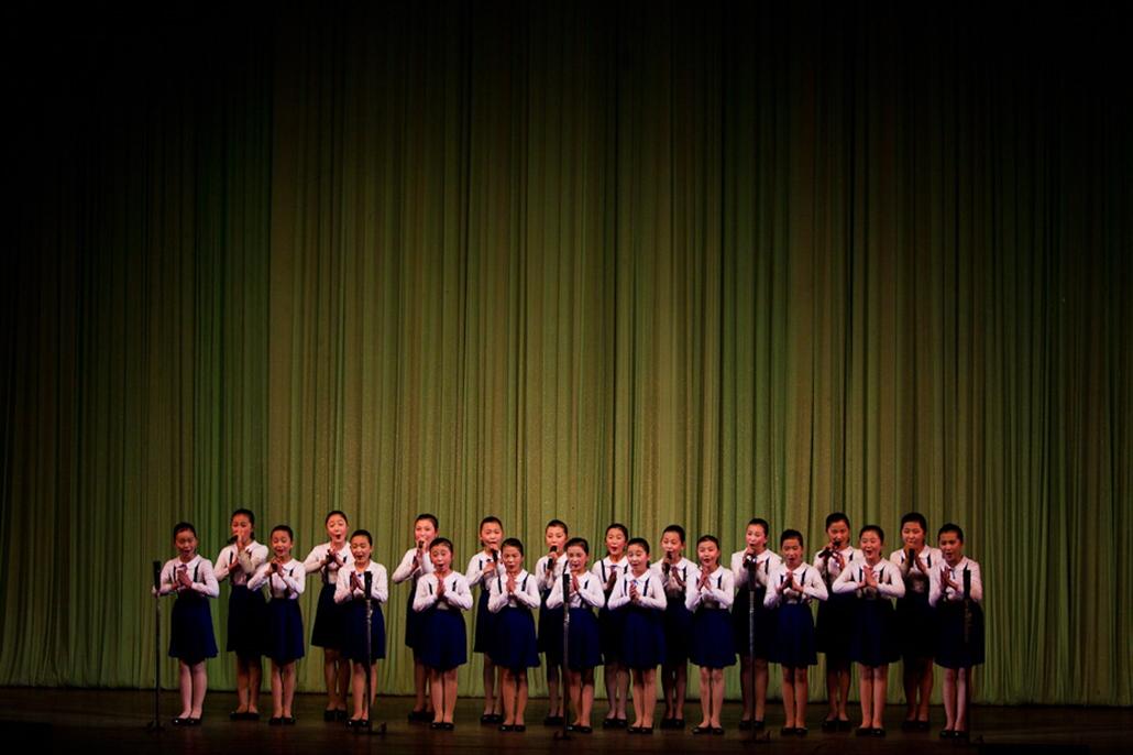 Észak-Korea nagyítás, phenjan