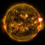 Íme 2015 első nagyobb napkitörése – fotó, videó