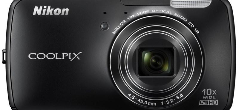 Itt a Nikon első androidos fényképezője