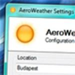 Az időjárásnak megfelelő ablakkeret és Tálca a Windowsban