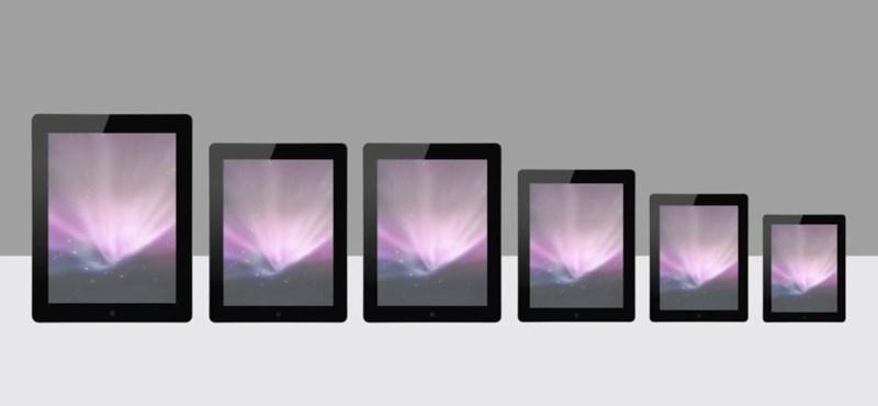 Ez valami vicc? A közepes új iPad helyett kisebb jöhet a nagyobb iPadből