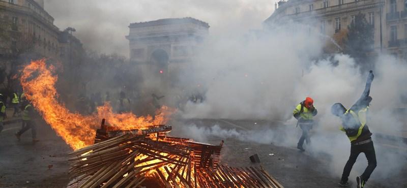 Francia tüntetéssorozat: szombaton 89 ezer biztonságit mozgósítanak országszerte
