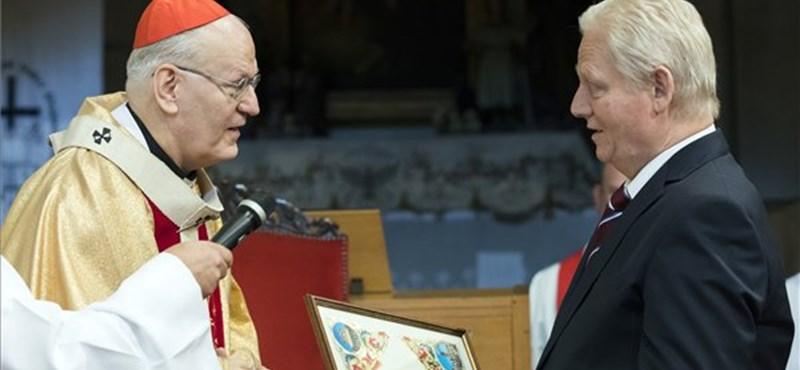 Egyházi kitüntetést kapott Tarlós István