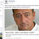 Bayer Zsolt elhatárolódott a Hírcsárdától