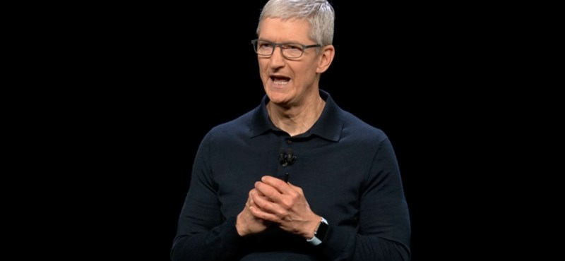 Tim Cook elismerte: még drágábbak lehetnek az iPhone-ok a vámháború miatt