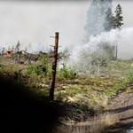 Olyan drámai a helyzet, hogy bombával próbálják oltani az erdőtüzet Svédországban