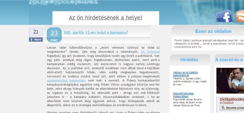 Török Gábor: jobbról kell keresni a Fidesz váltópártját?