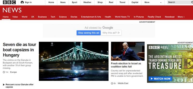 Uralja a nemzetközi médiát a budapesti hajóbaleset