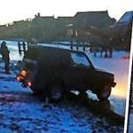 Hollandiában szinte lemásolta valaki a híres balatoni Hummer-esetet