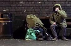 Banksy meglepett egy hajléktalant egy graffitivel – videó