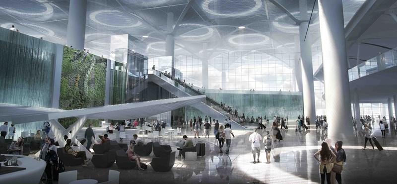 Világrekorder bevásárlóközponttal nyílik meg az új török megareptér