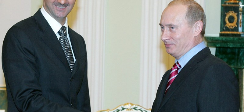 Putyin felhívta Aszadot: pénteken jön a tűzszünet