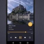 Egyszerű és szép zenelejátszó Androidra, ráadásul ingyen