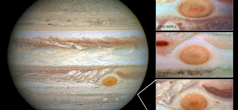 Újabb izgalmas jelenség kötődik a Jupiter Nagy Vörös Foltjához