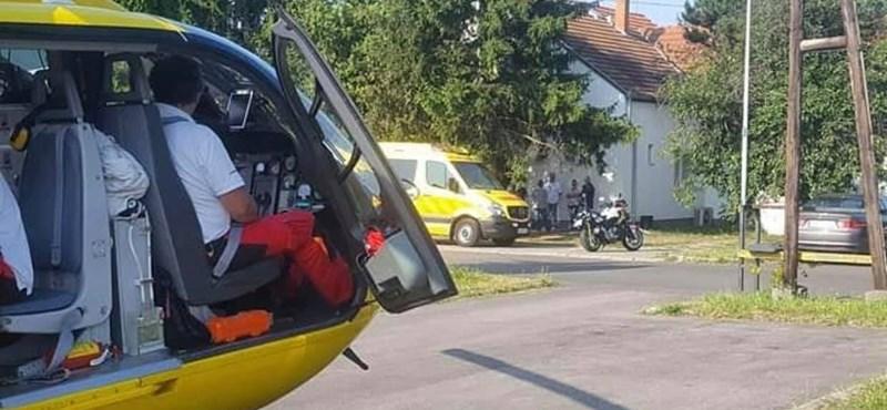 Tesiórán esett össze egy 14 éves szabolcsi fiú