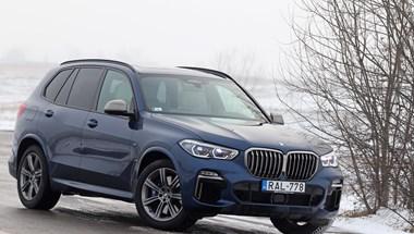 Gigantikus hűtőrács és irdatlan dízelmotor: teszten a BMW X5 M50d