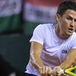 Balázs Attila vereségével kezdődött a US Open