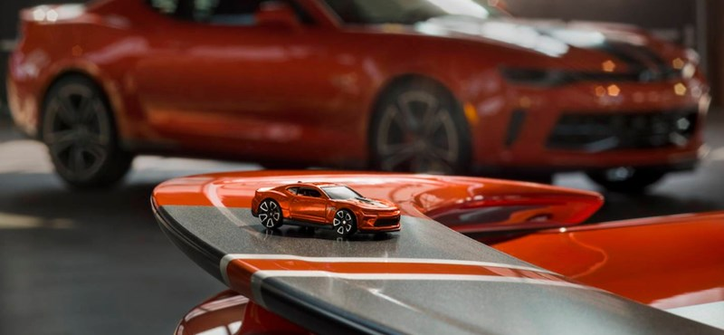 Férfias játékok: íme a több száz lóerős igazi Hot Wheels izomautók