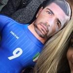 Az olasz gólvágó magyar barátnője is örülhetett hétfőn