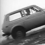 Szovjet Lada-reklám a legjavából: kőkemény kiképzésen a jó öreg Niva