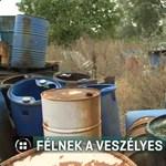 Minisztérium: Magánterületen áll, nem a mi hatáskörünk a veszélyes hulladék