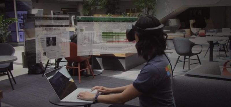 Videó: Megnézheti a Microsoft kijelzőit, amelyek tulajdonképpen nincsenek
