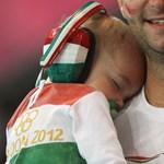 Fotó: a magyar kézilabda legkisebb rajongója Londonban