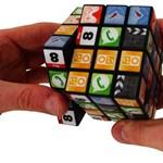 Hogyan néz ki a Rubik kocka és egy iPhone szerelemgyereke?