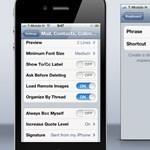 iOS 5 tipp: több e-mail aláírás használata
