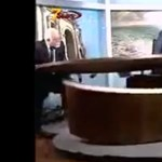 Szétvertek egy tévéstúdiót a felbőszült vitapartnerek - videó