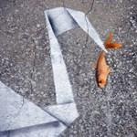 Street art percek: Banksy origamizik is?
