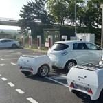Vontatható akkumulátor: utánfutóval növelik meg a villanyautók hatótávját