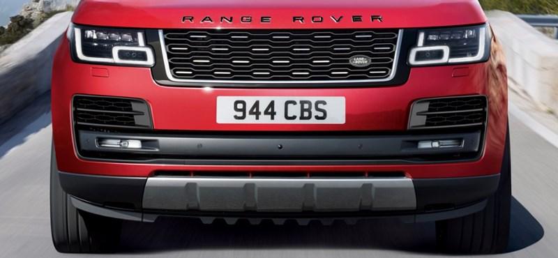 Újabb zöld rendszámos polgárpukkasztó: íme az új hibrid Range Rover luxusterepjáró