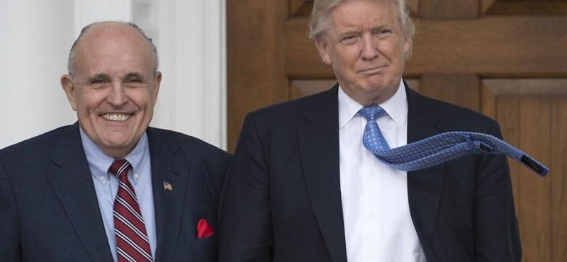 Rudolph Giuliani budapesti és kijevi találkozókkal akarja megmenteni Trumpot
