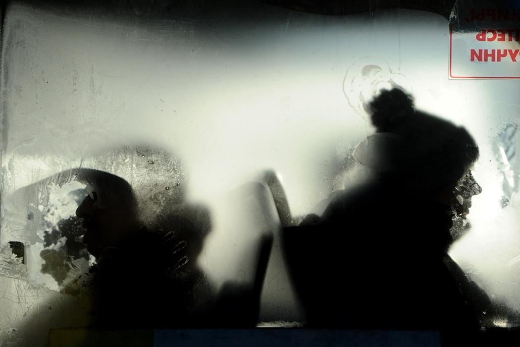 afp. hét képei - nagyítás -  Szentpétervár, Oroszország, tél, hideg, pára 2014.01.30.