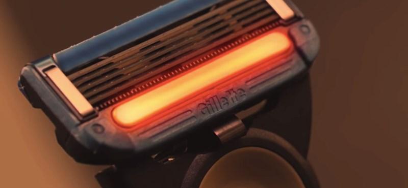 Olyan borotvát villantott a Gillette, amit gombnyomásra felfűthetünk